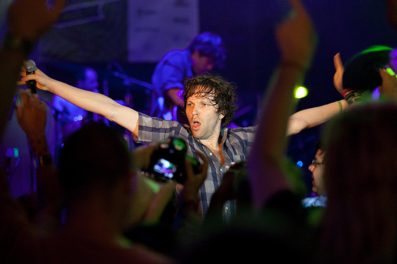 Nic Offer of !!!, Jacked Stage by Doritos, SXSW 2012