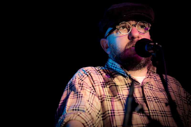 Stephin Merritt of The Magnetic Fields, NPR Day Party, SXSW 2012