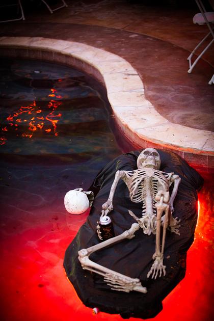 Richard McBlane, Wedding Photographer in Austin, TX - Halloween Wedding Reception
