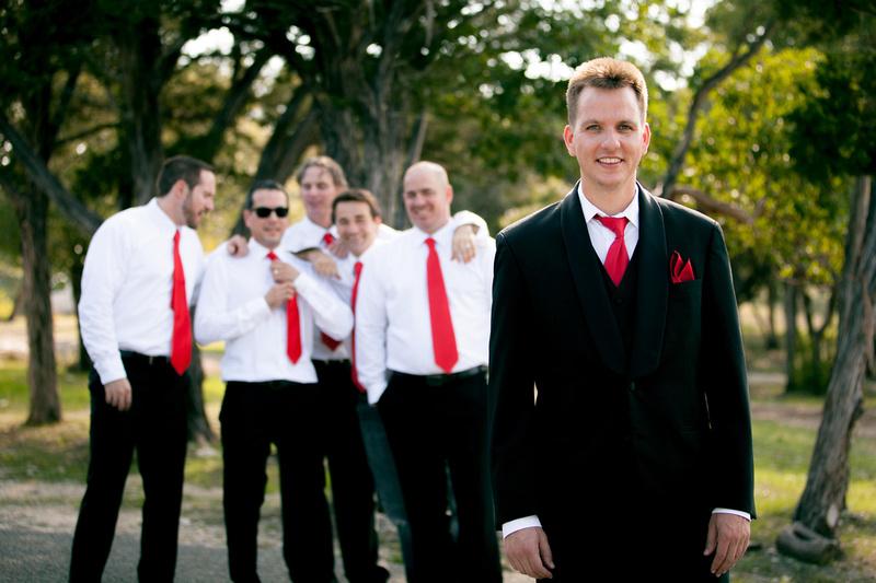 Richard McBlane Wedding Photography - groom and groomsmen
