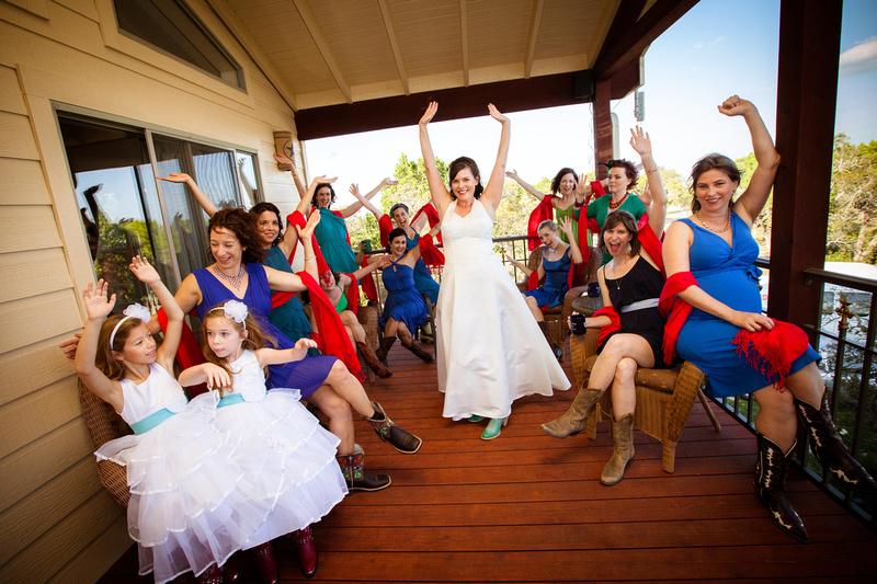 Richard McBlane Wedding Photography - bride, bridesmaids, flower girls