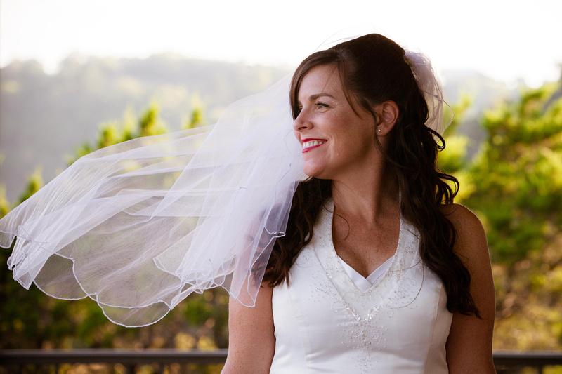 Richard McBlane Wedding Photography - bride with veil