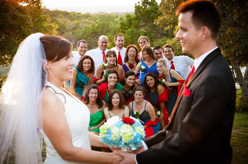 Richard McBlane Wedding Photography - bridal party
