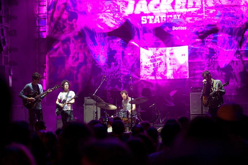 White Denim, Jacked Stage by Doritos, SXSW 2012