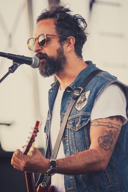 """SXSW 2013 - Ismael """"Tito"""" Fuentes of Molotov at Auditorium Shores, Austin, TX"""