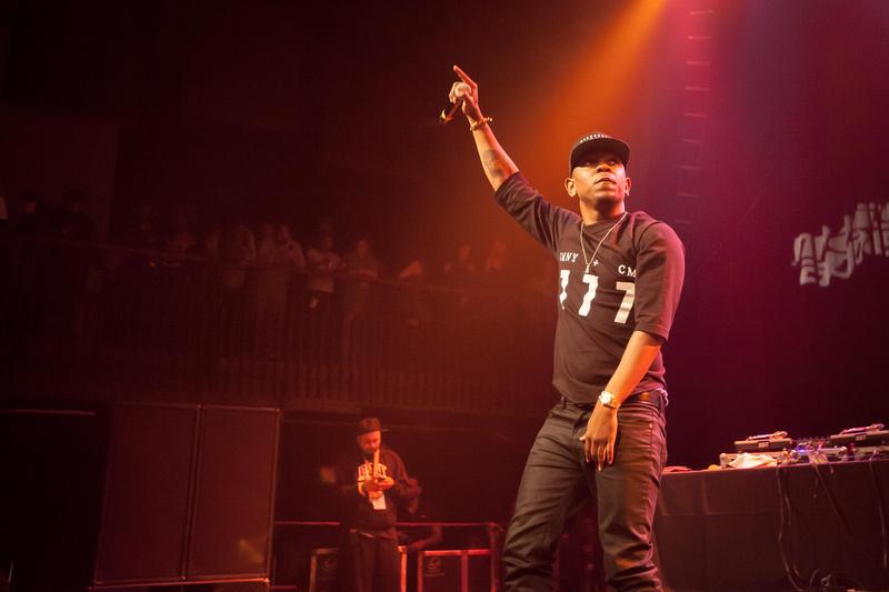 SXSW 2013 - Kendrick Lamar - Mass Appeal presents: Ice Cream Social at Austin Music Hall