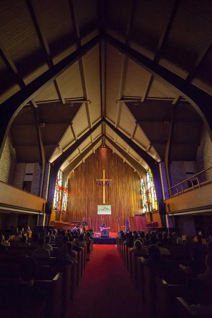 SXSW 2013 - Dustin Wong at the Central Presbyterian Church, Austin, TX