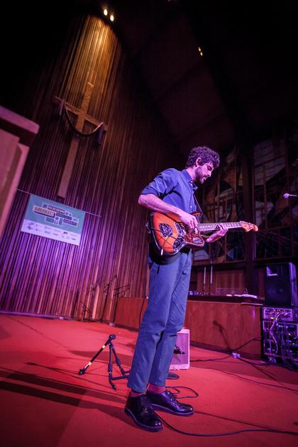SXSW 2013 - Devendra Banhart at the Central Presbyterian Church, Austin, TX