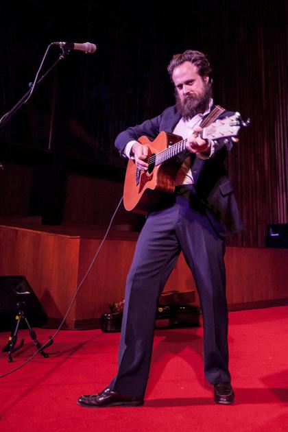 SXSW 2013 - Samuel Beam / Iron and Wine at the Central Presbyterian Church, Austin, TX