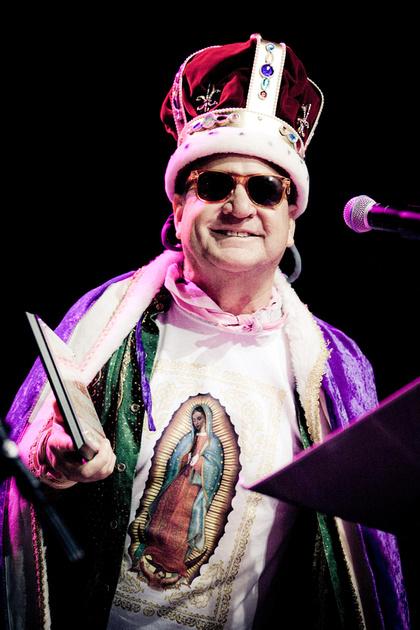 "Joe ""King"" Carrasco, Austin Music Awards, SXSW 2012"