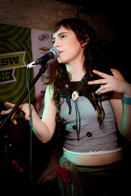 María Barracuda of Jotdog, SXSW 2012