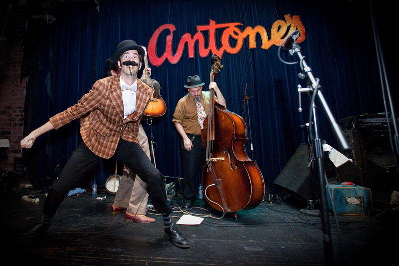 Shorty Stump of White Ghost Shivers at Antone