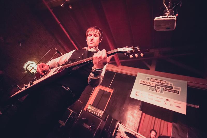 SXSW 2013 - Tim Wheeler of Ash, playing at the 101X showcase at Buffalo Billiards, Austin, TX
