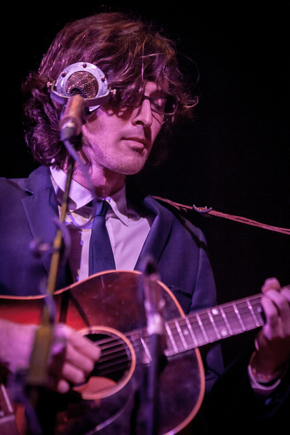 SXSW 2013 - Joey Ryan of The Milk Carton Kids at the Central Presbyterian Church, Austin, TX