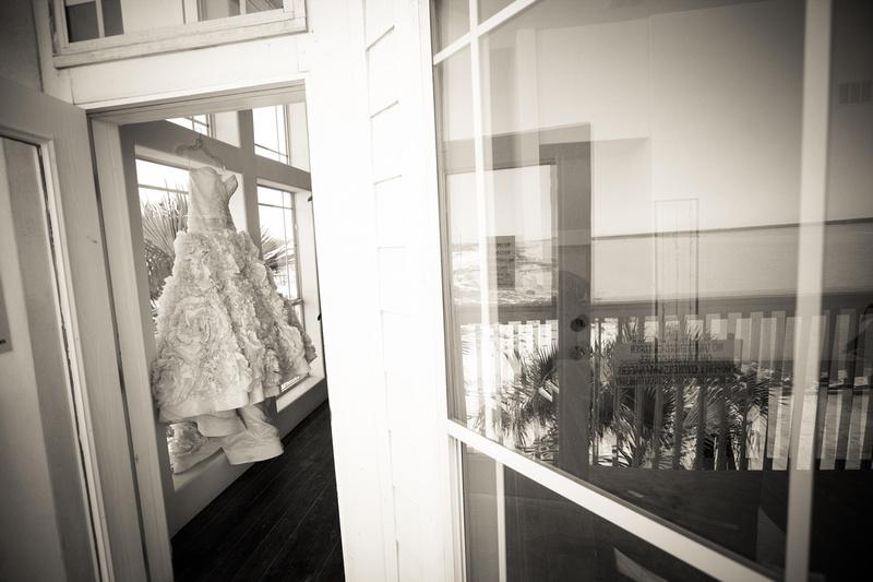 Wedding dress - Richard McBlane Wedding Photography, Aransas Pass, Port Aransas, Austin, Texas